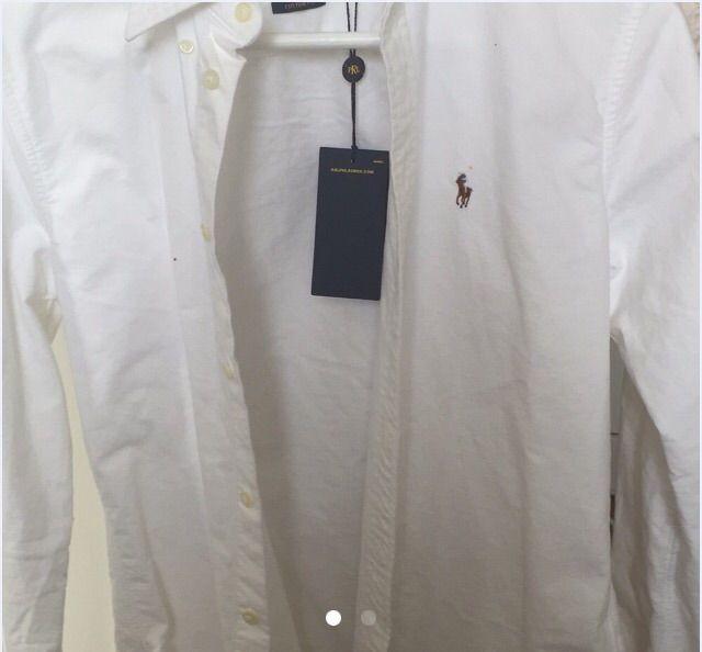 Helt oanvänd och ny skjorta ifrån ralph lauren. Säljs då den är lite för stor för mig i smaken som vanligtvis har xs/s. Skitsnygg förövrigt! Prislappar kvar. . Skjortor.