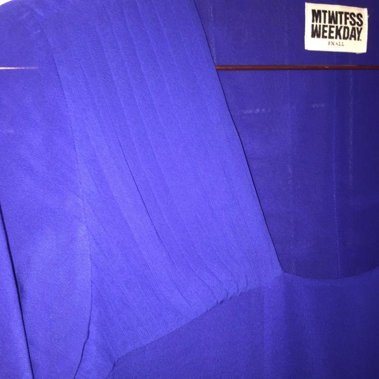 df890bb36ca6 Kornblå klänning från MTWTFSS WEEKDAY - Weekday Klänningar - Second Hand