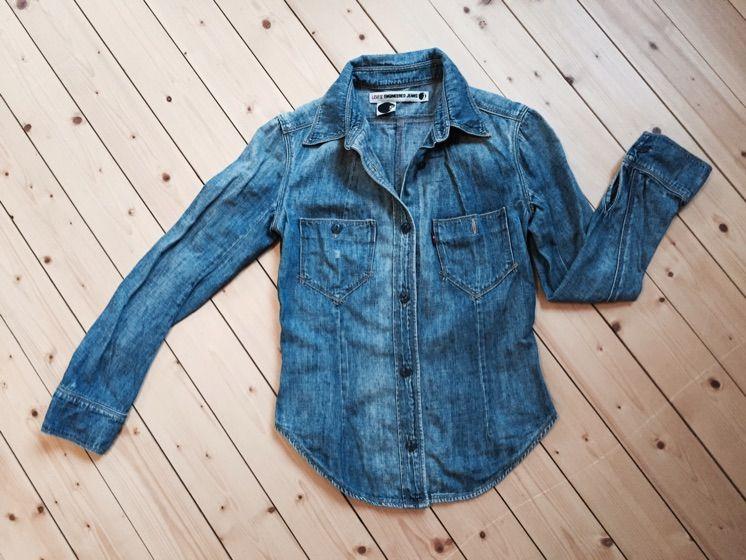 Supersnygg jeansskjorta från Levis. Säljer den med sorg då den tyvärr är  för liten för ... 6e8dbcc05c4db