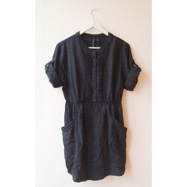 f43b9fd8d9c0 Mörkblå klänning från Mango. Nypris 500kr. . Klänningar.