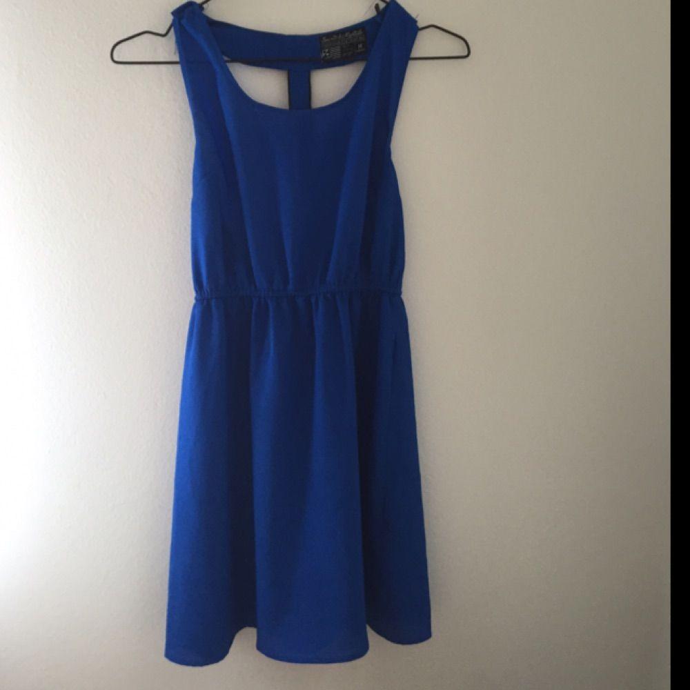 Klänning från carlings i fin blå färg (2 a bilden ger färgen rättvisa! 1b9f698cf2e9f