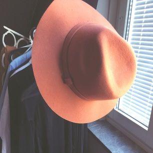 orange hat from Monki