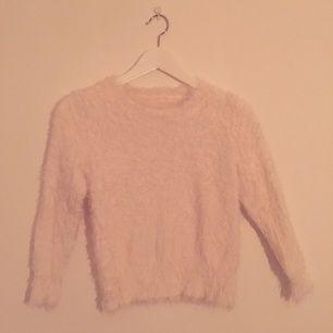 Furry knit wear