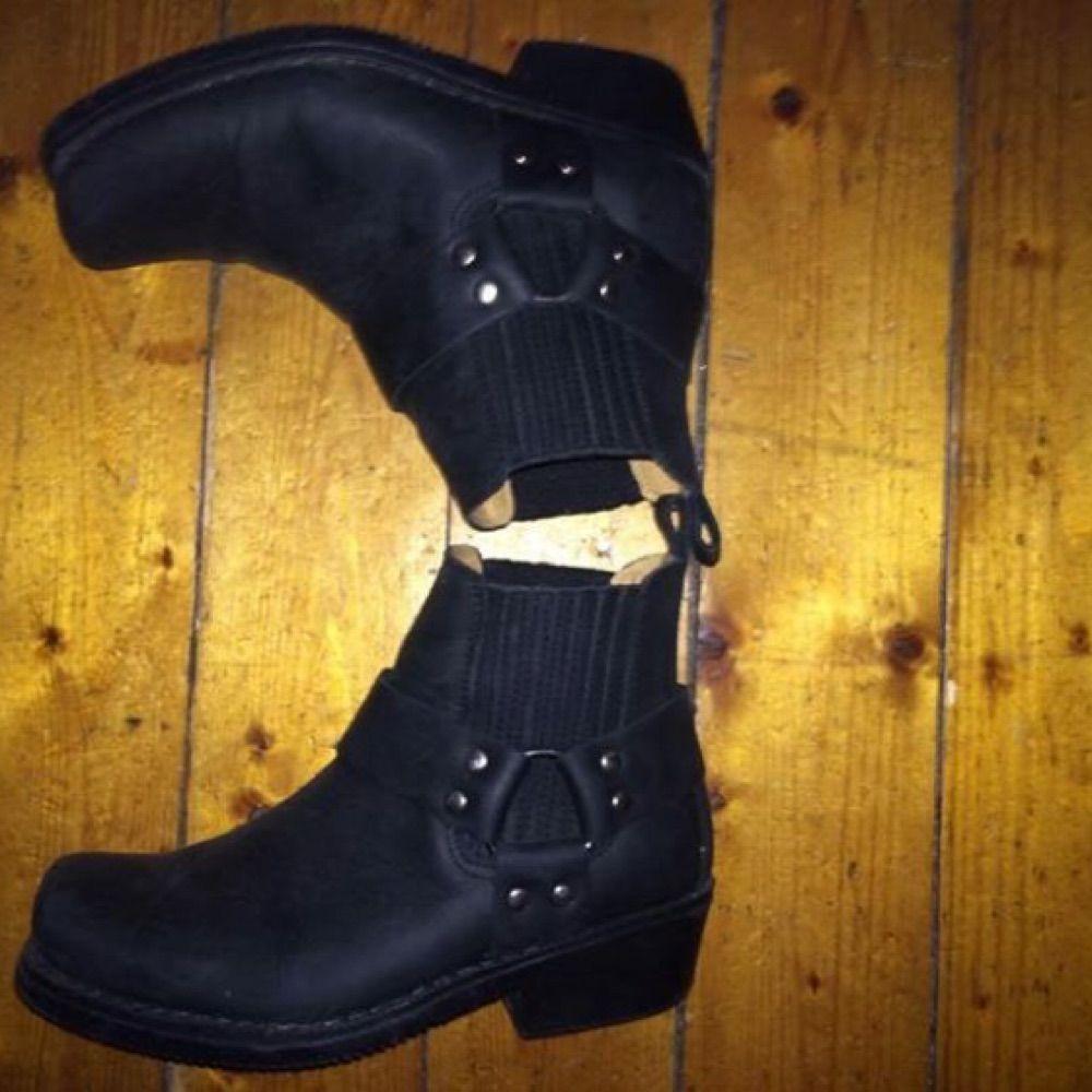 80cd1a89e4e ... Sælge mine aaaassnygga biker støvler fra dansk mærke MEINERT. Skoene er  håndlavede i Spanien, ...