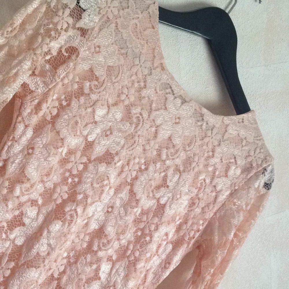 80a70abe05c6 ... rosa spets klänning, tvär snygg på fester eller bara vanliga sommar  kvällar. tight ända