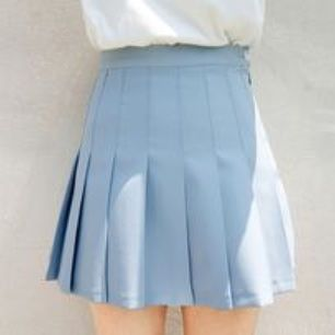 Blue tennis skirt from Chuu. Never used. Has shorts underneath (see pictures)