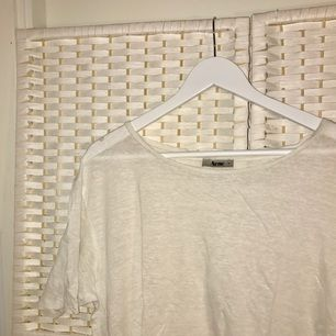 White Acne t-shirt, barely used.
