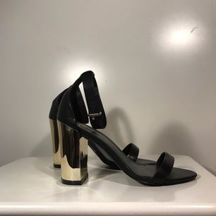 Heels from nelly.com. Worn once or twice. About 6 cm high.
