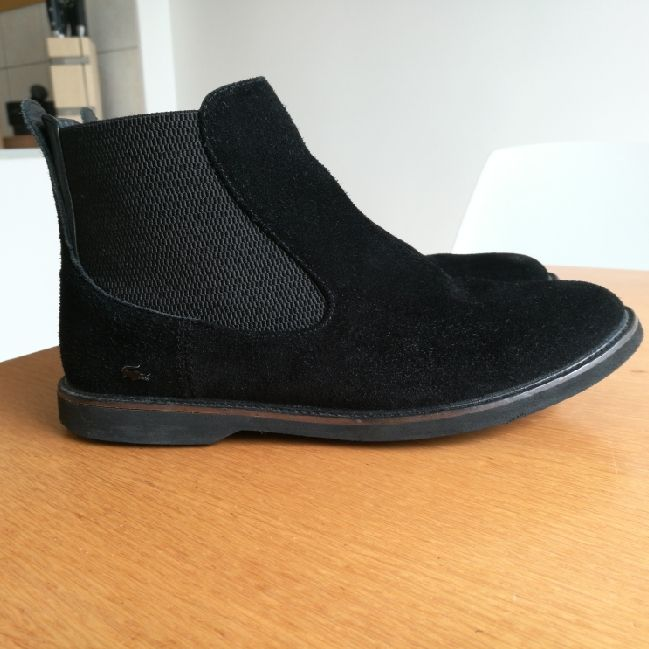 Boot from Lacoste, worn very little, bought 150 €. Skor.