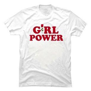 Girl Power tröja köpt i Vietnam. Använd & tvättad en gång. Strl L men sitter som en S. Kan mötas upp i Sthlm eller skicka (frakt 30kr).