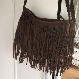 Brun frans väska