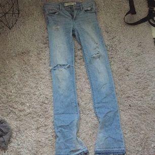 Oanvända ambercrombie & fitch bootcut jeans