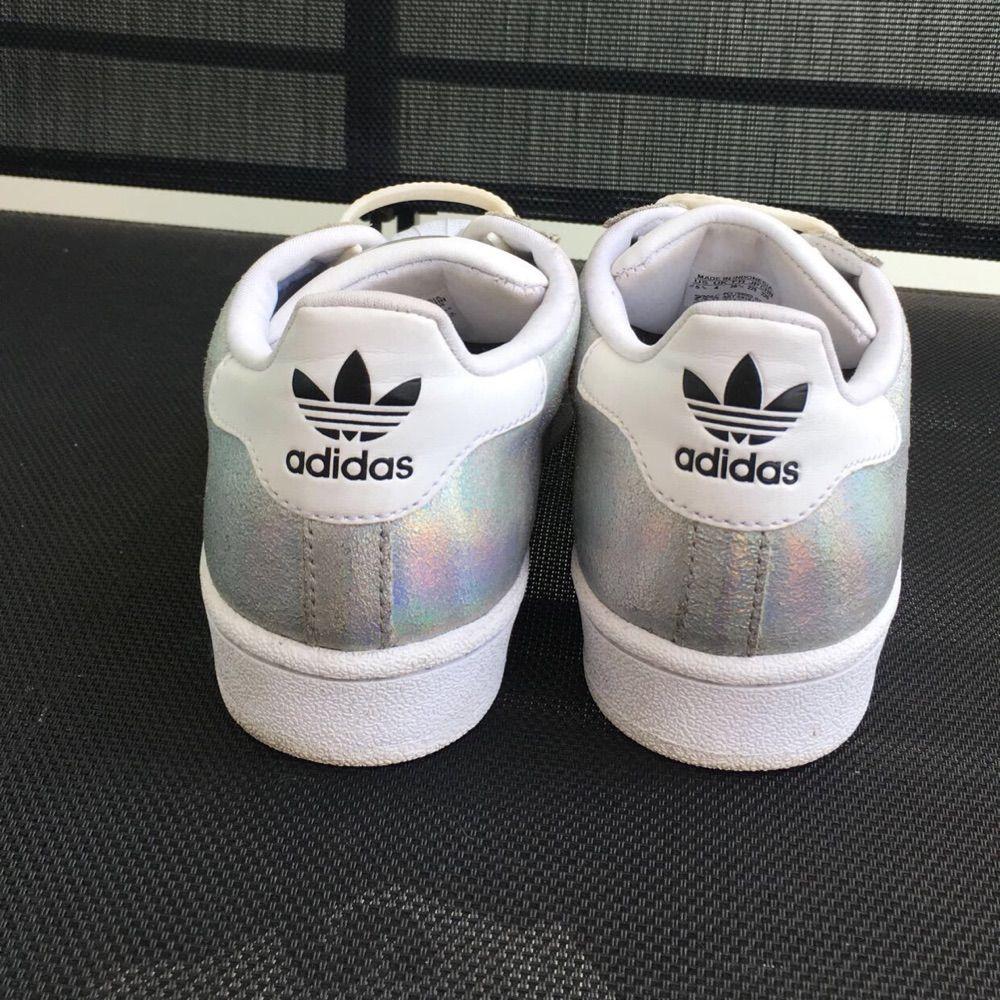 online retailer fdd21 09646 Adidas superstar glittriga Storlek 36 Skosnören medföljer!. Skor.
