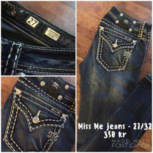 Miss Me jeans i fint skick! Modell Skinny storlek 27/32.
