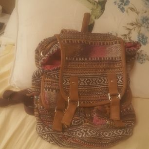 Såå snygg ryggsäck. Detta märke säljs inte längre i Sverige.