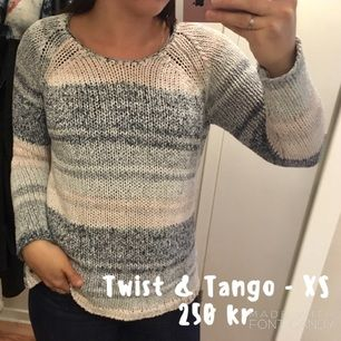 Knappt använd stickad tröja från Twist & Tango. Strl XS men passar även S.