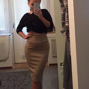 Beige kjol från USA, aldrig använd