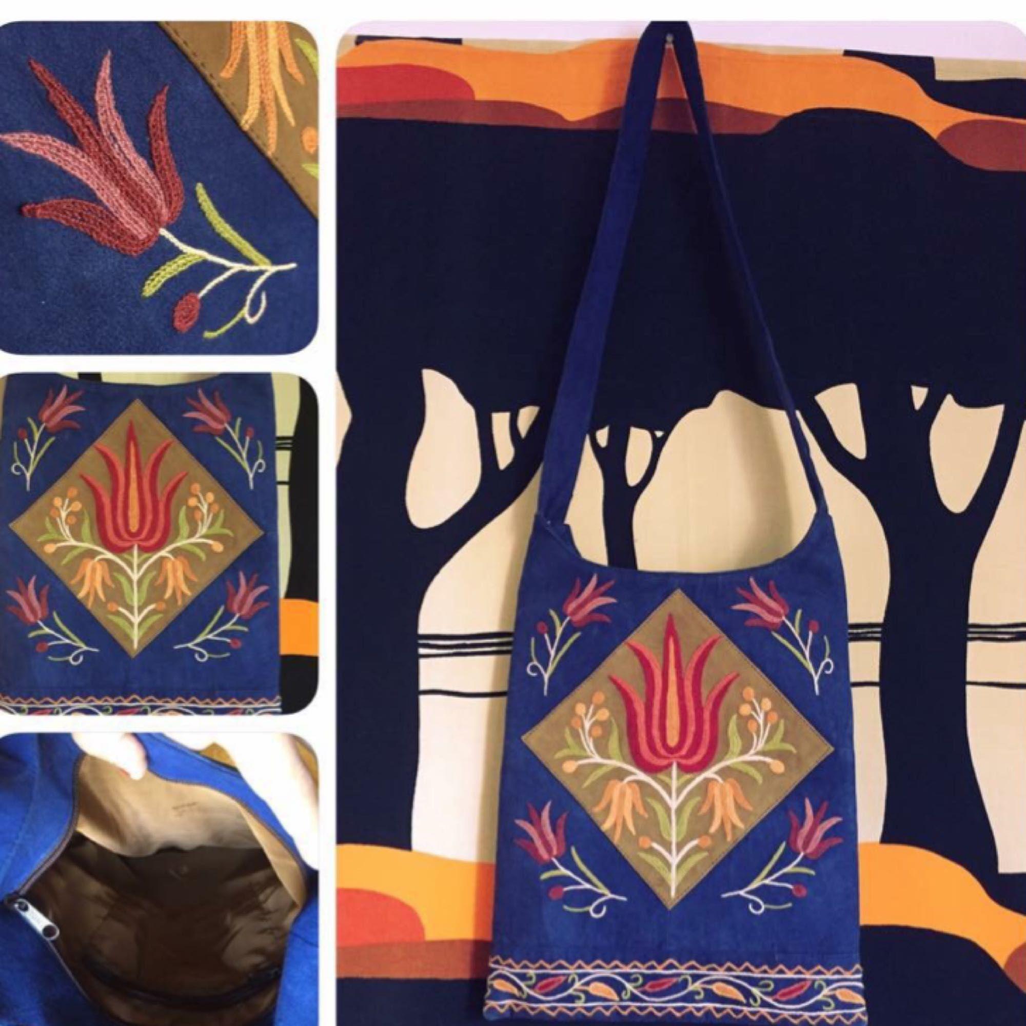 e581eb1b668 130 kr pp för världens skönaste o tjusigaste väska! Mjukaste semskskinn  (som supermjuk mocka ...