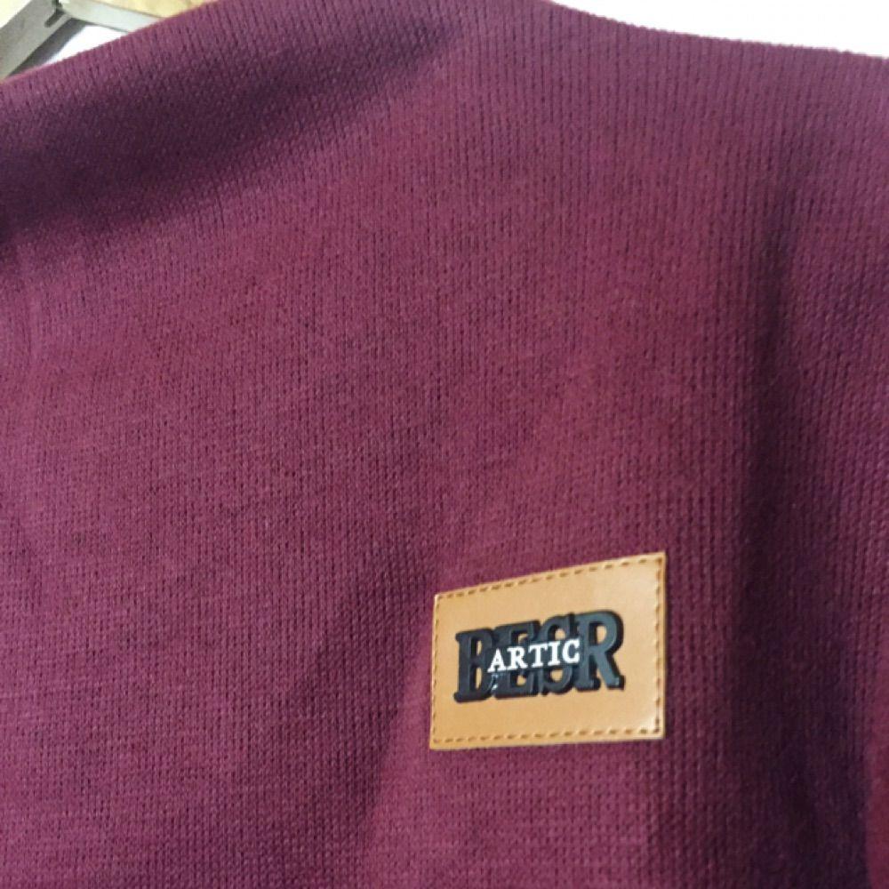 Oanvänd tjocktröja i one size. Skönt material och fin vinröd färg. Köparen står för frakt, kan mötas upp i Uppsala.. Huvtröjor & Träningströjor.