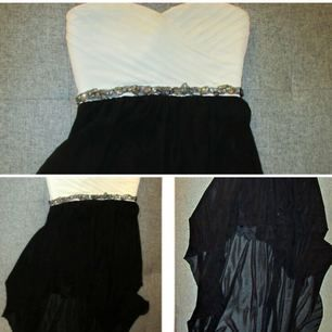Black & white high lo dress  Original Price: 60 USD Size: 7  Used Once