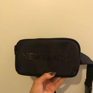 Becknarväska från New Black, knappt använd, som ny.
