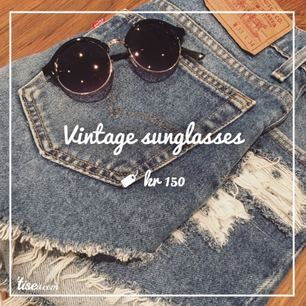 Vintag sunglasses