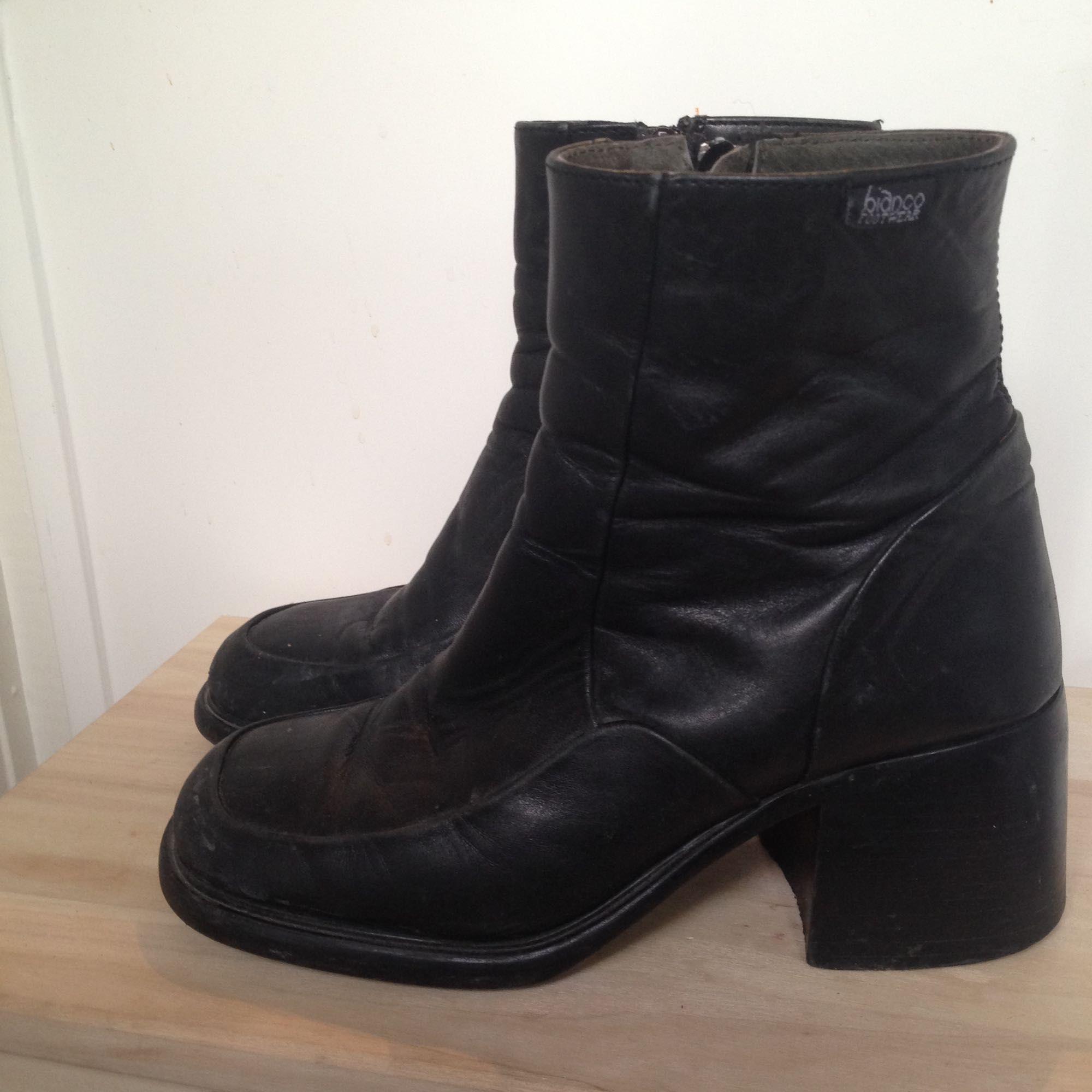 e9c066ceff9 Äldre svarta skor från Bianco, väldigt sköna att gå i. . Skor.