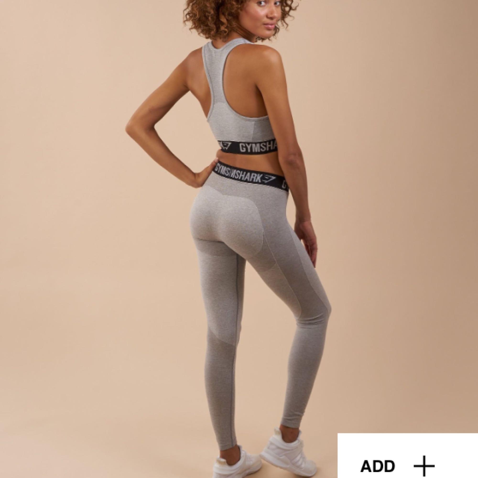 Helt nya träningstights från gymchark, bara testade med lappen kvar, köpta för 699 säljer för 500! . Jeans & Byxor.