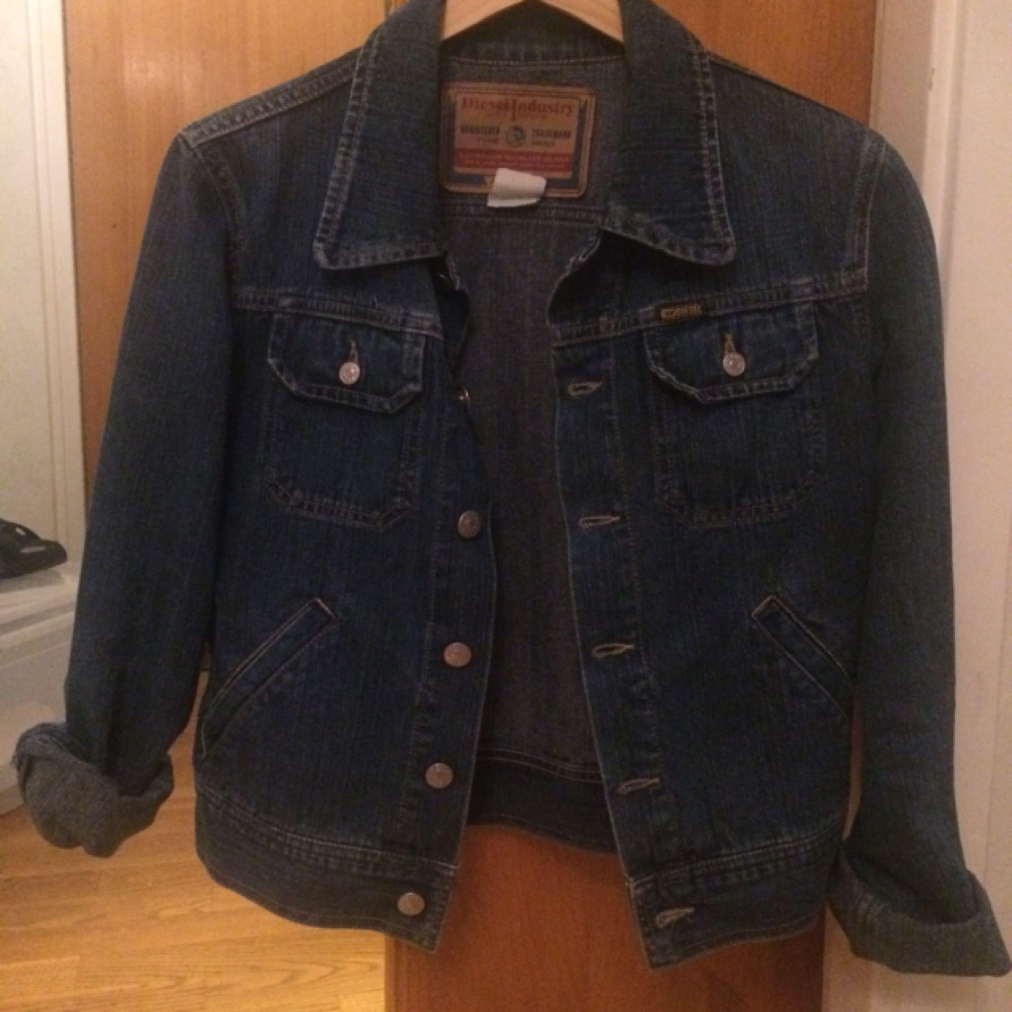 Vintage diesel jeansjacka . Jackor.