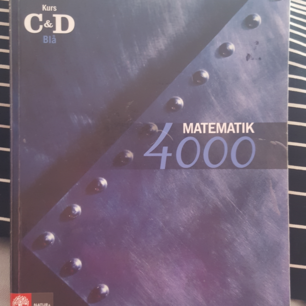 Matematik 4000 kurs C och D