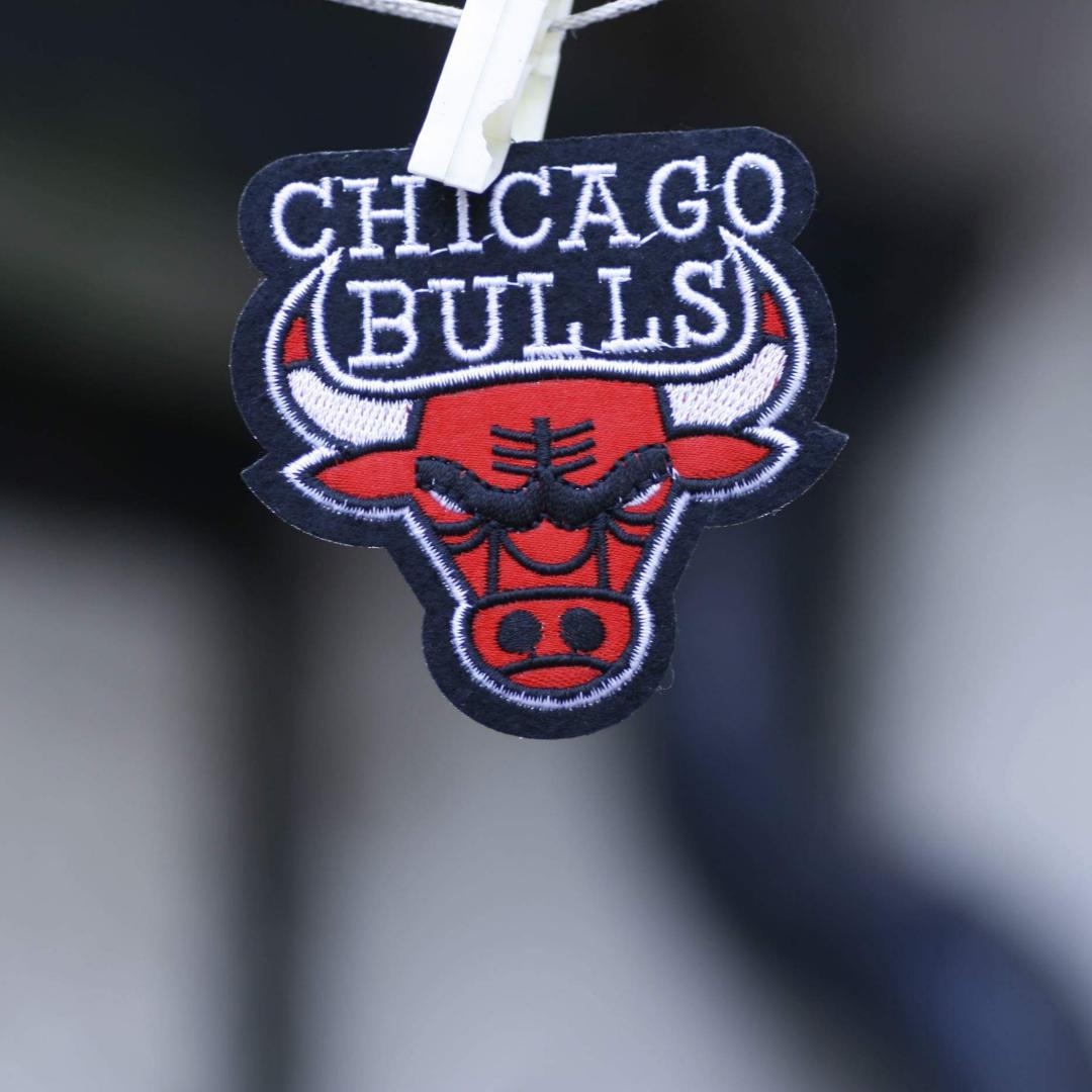 Chicago Bulls tygmärke 35kr inkl frakt! Ca 7,5 x 7,5 cm. Accessoarer.