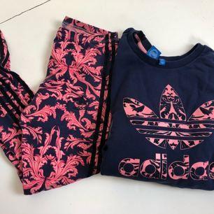 Adidas sett, sälj i i par eller separat  Tröja 200 Leggings 150 Köparen står för frakt