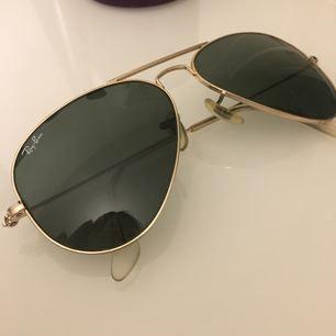 Ray-Ban Aviator Classic klassisk guldfärgad båge   100 % UV-skydd.   🌸🌸