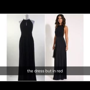 Red dress, was not worn, the Black Label Collection, Size: S/36/38