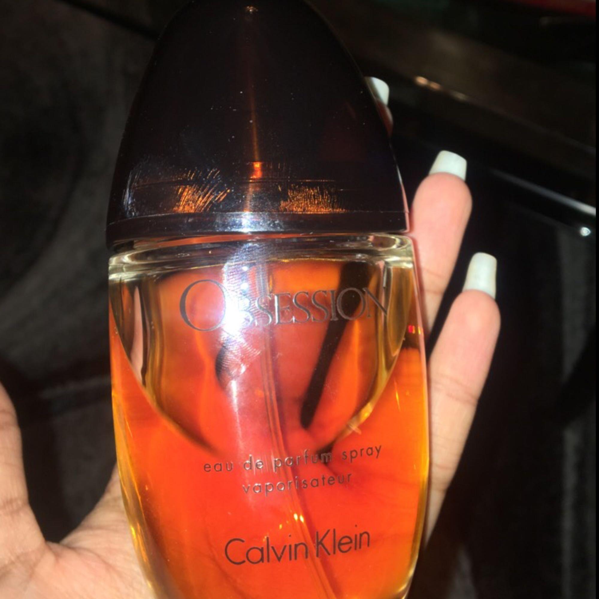 Calvin Klein parfym Obsession 100ml Lite använd men det är mycket kvar.. Övrigt.