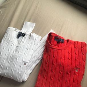 Gant kabelstickade tröjor 300kr styck.