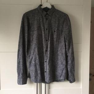 55% cotton 45% linen DR.Denim shirt, new condition