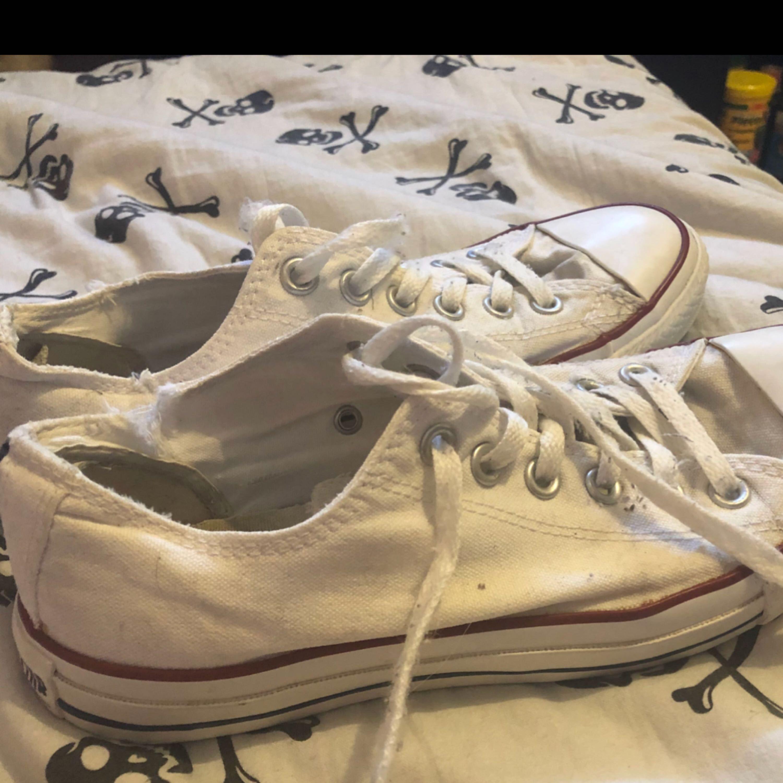 converse beskidte sko