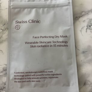 Swiss Clinic dry mask Kan användas upp till tre gånger  Nypris: 299kr