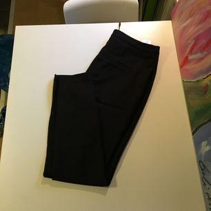 Helt nya, oanvända kostymbyxor från Selected femme. Dekorativ dragkedja vid ankel, samt som längst framsidan av benet. Normala i storleken!