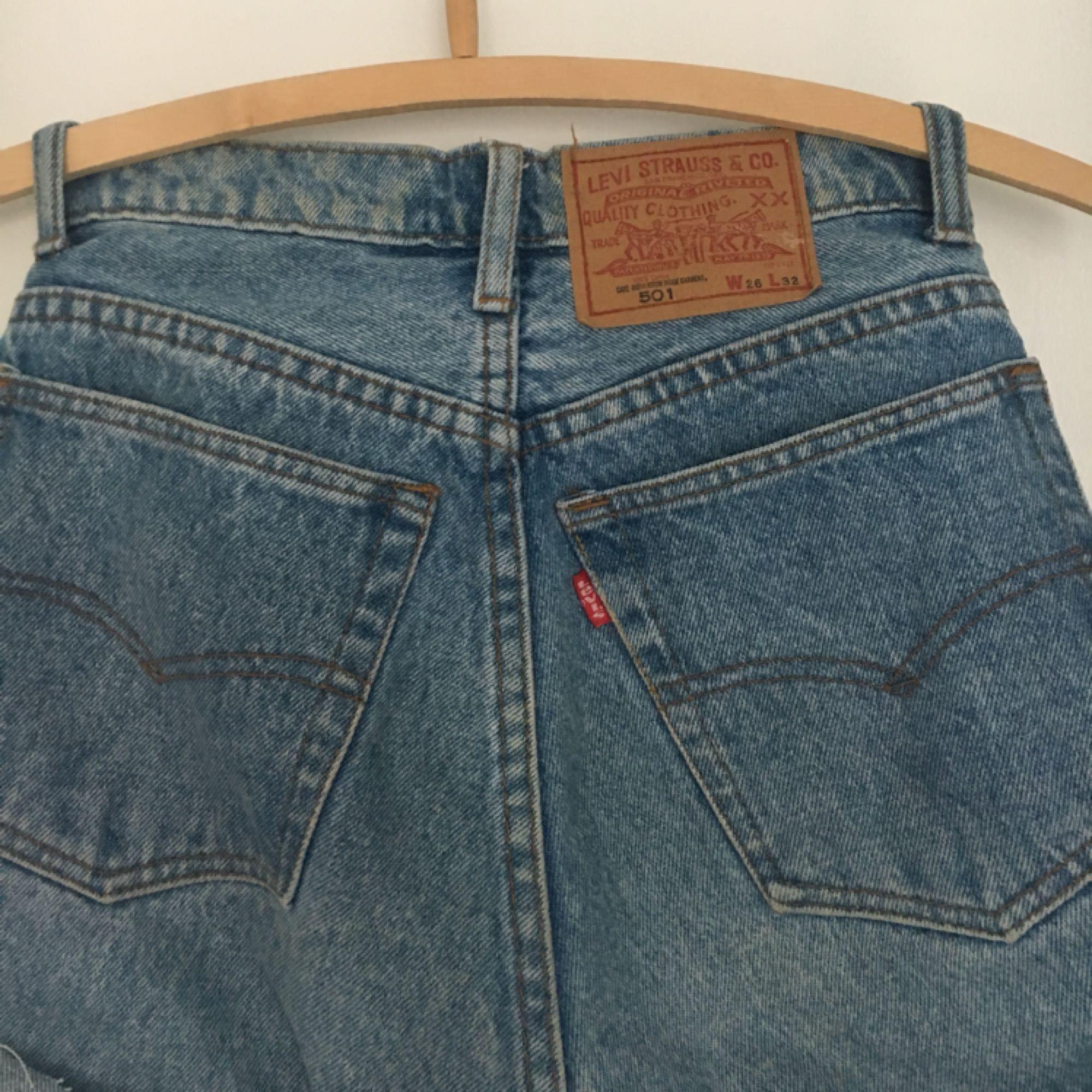 Superfina shorts från Levi's. Köparen betalar frakt💋. Shorts.
