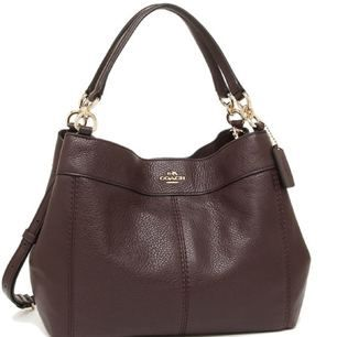 Coach bag (COACH F23537) Small shoulder bag Women bag bag shoulder bag smooth fabric.  The length 34cm in width X 23cm in height X 9.5cm in width / handle: Approx. 37.5cm, length of shoulder: weight: Approx. 580g.