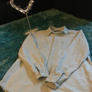 Himmels blå oversized jeans skjorta från bik bok, aldrig använd 🌼 Priset kan diskuteras 🌼