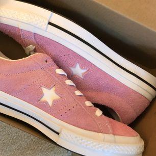 Converse one star ox pink. Size 7. Helt nya och oanvända