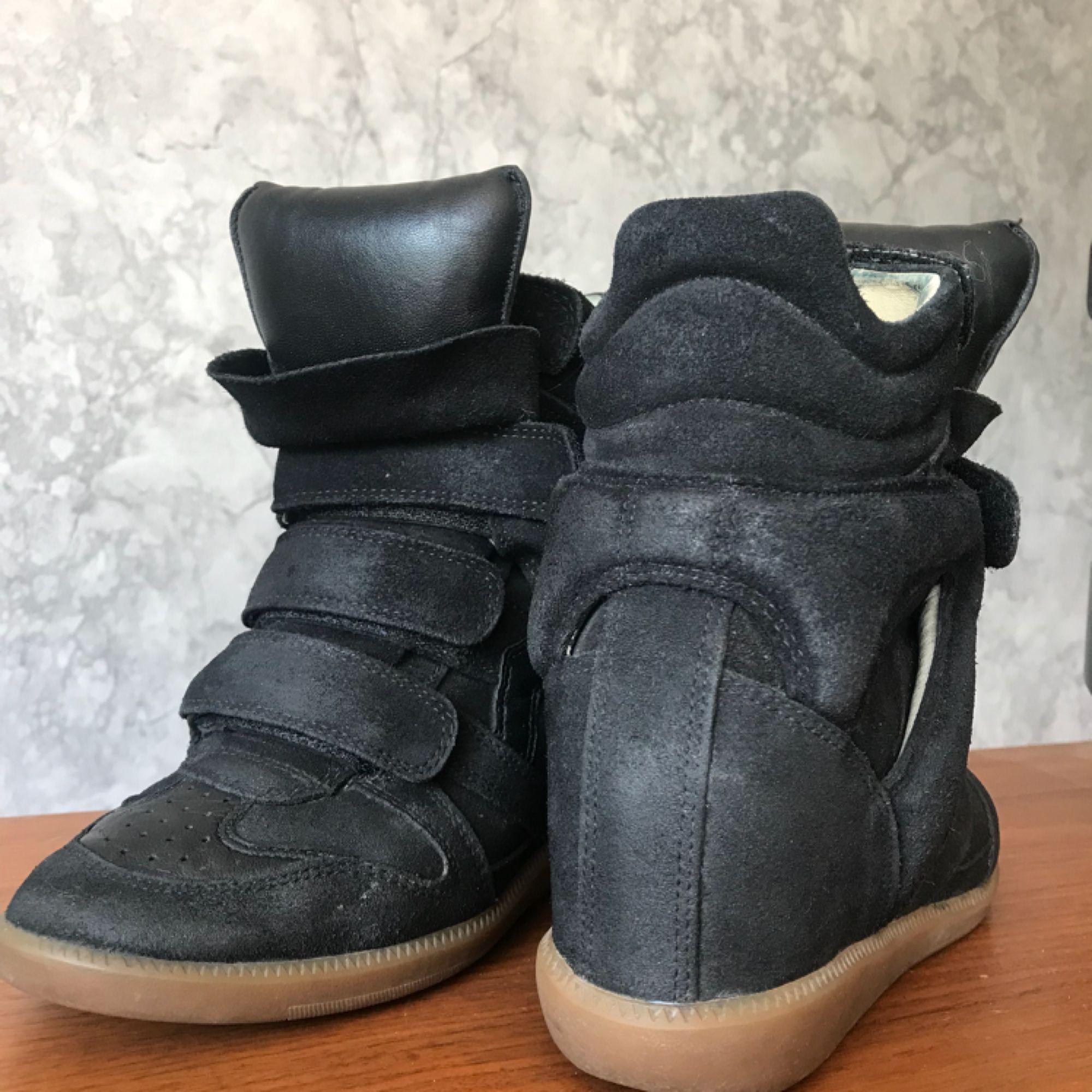 e12fa932 På trods af hælen er Et par superfina Isabel Marant Etoile sko i størrelse  36. På trods af hælen er