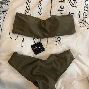 Oanvänd bikini från Zaful, strl medium