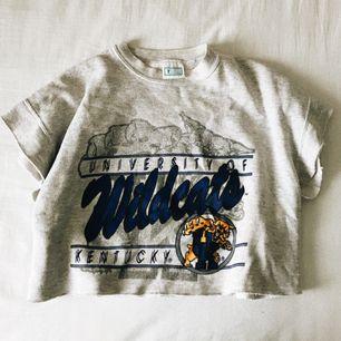 ✨ kortärmad sweatshirt från urban outfitters vintage-avdelningen i London. inte använd alls. ✨