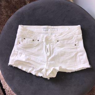 Vita jeans shorts från Suite Blanco