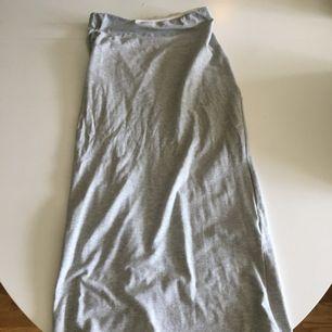 Lång kjol utan slits