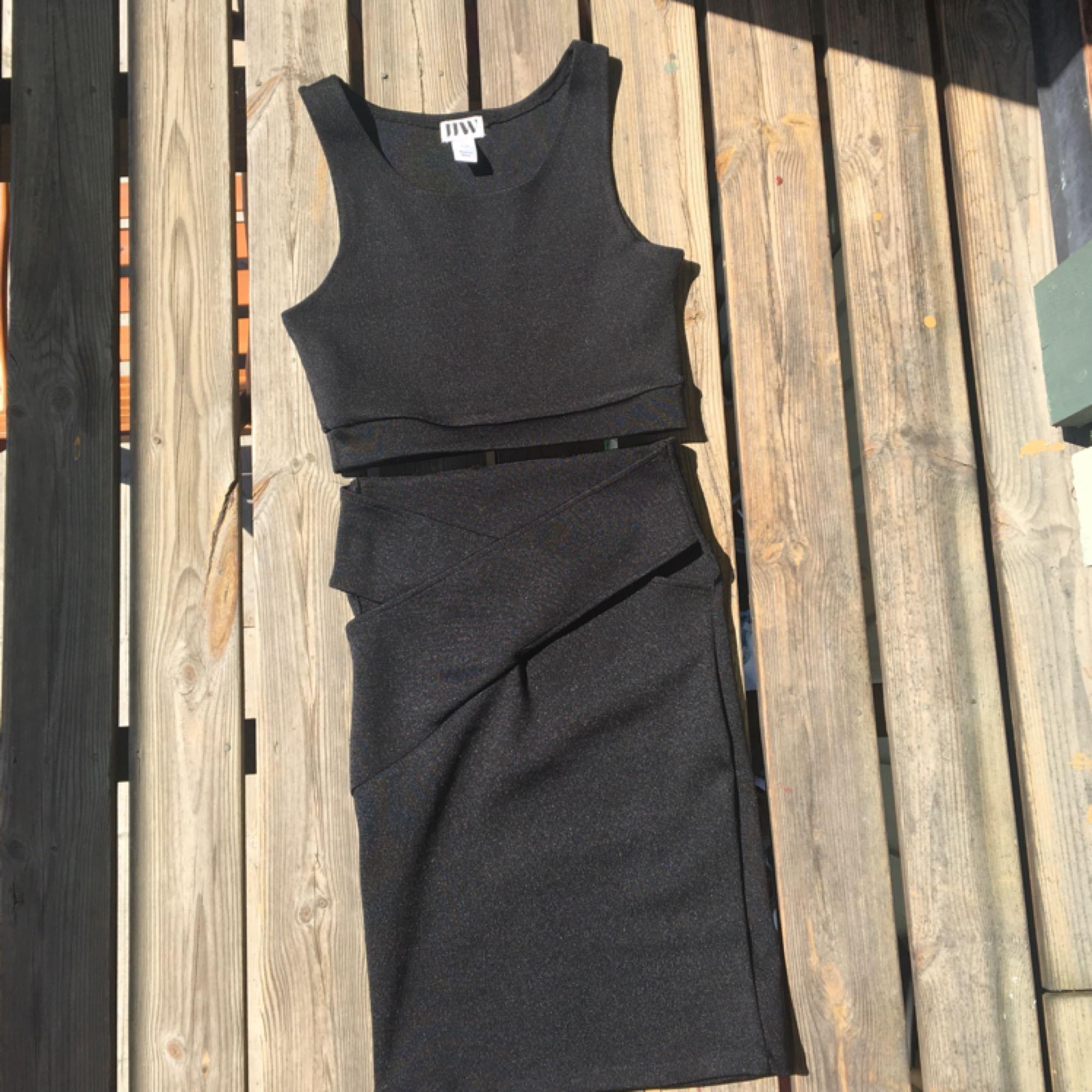 48e240e094a8 Set med kjol o topp! Jättestretchigt - Klänningar - Second Hand